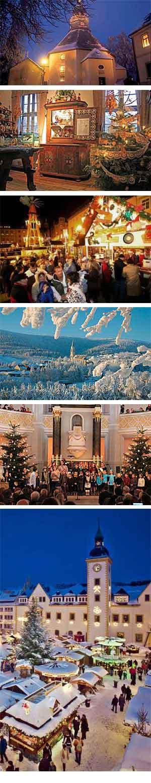 Kerst in het Ertsgebergte