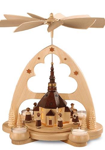 Boog Piramide Kerk Seiffen
