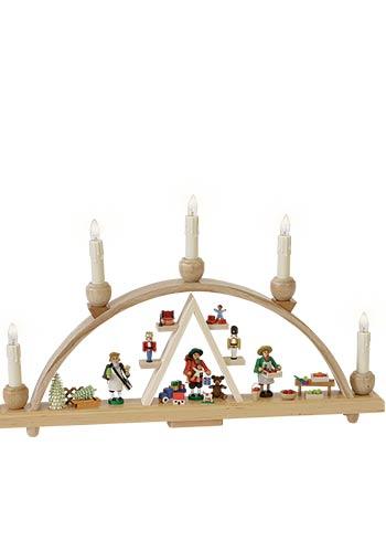 Kleine Lichtboog Kerstmarkt