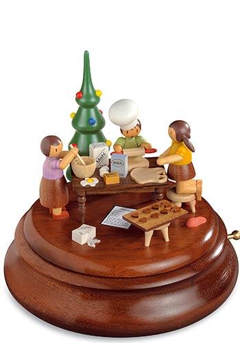Muziekdoos Kerst Bakkerij