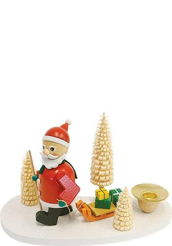 Kaarsenhouder Kerstman