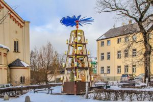 Kerst Piramide Eibenstock