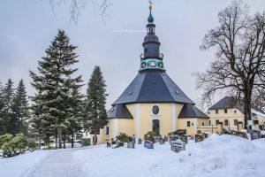 Kerkje van Seiffen Winter