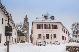 Schneeberg en St Wolfgang Kerk