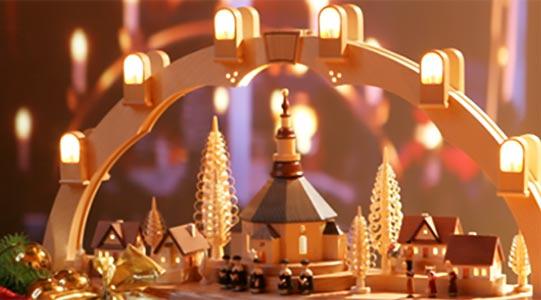 Kerst Lichtbogen