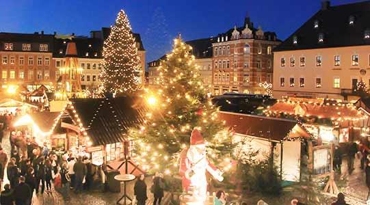 Kerstmarkt Annaberg Ertsgebergte